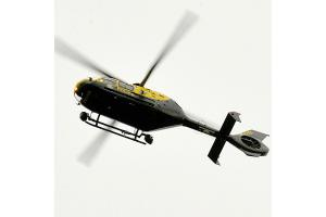 Police helicopter searches for missing teen