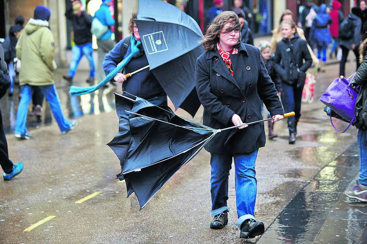 Torrential rain, hail and strong winds forecast for Saturday