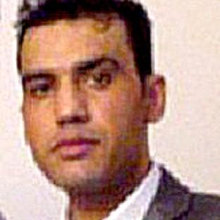 Saber Haldari, who is wanted in connection with child sex offences in Bristol.