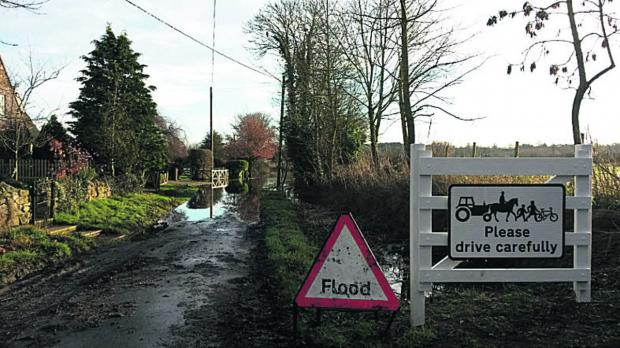 Herald Series: Lower Radley, near Abingdon, is among areas braced for flooding