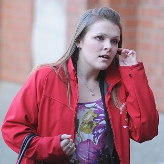 Herald Series: Rosie-Ann Stone arrives at Hull Crown Court
