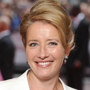 Emma Thompson is among the stars to have called on the Prime Minister to offer a safe haven to refugees fl