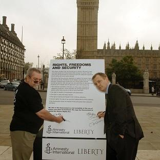 Les Walker (left) and Dr William Sampson claim to have been tortured in Saudi Arabia.