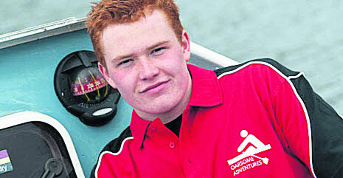 NO TURNING BACK: Eoin Hartwright, 17
