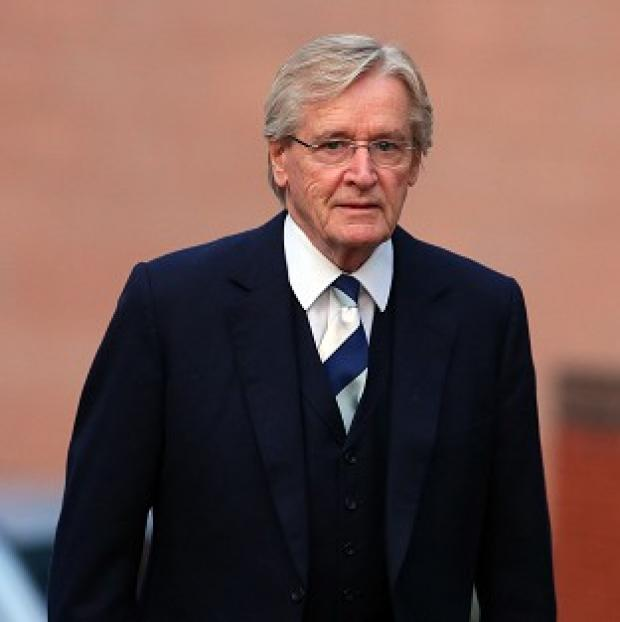 Herald Series: Coronation Street actor William Roache arriving at Preston Crown Court