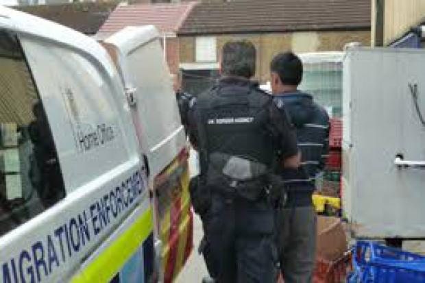 Immigration raid on six Didcot restaurants