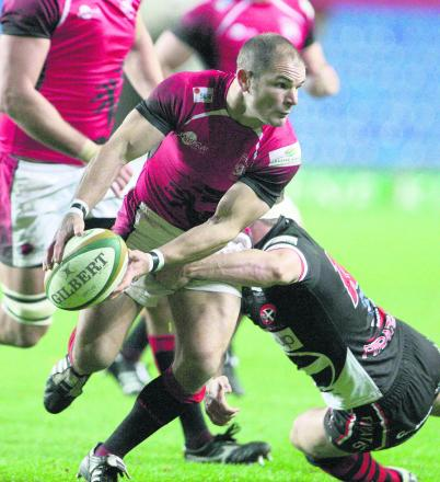 London Welsh fly half Gordon Ross returns when they take on his former club Leeds at the Kassam Stadium tomorrow