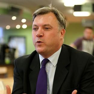 Ed Balls is promising to