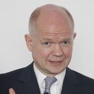 Foreign Secretary William Hague said UK is looking at taking in