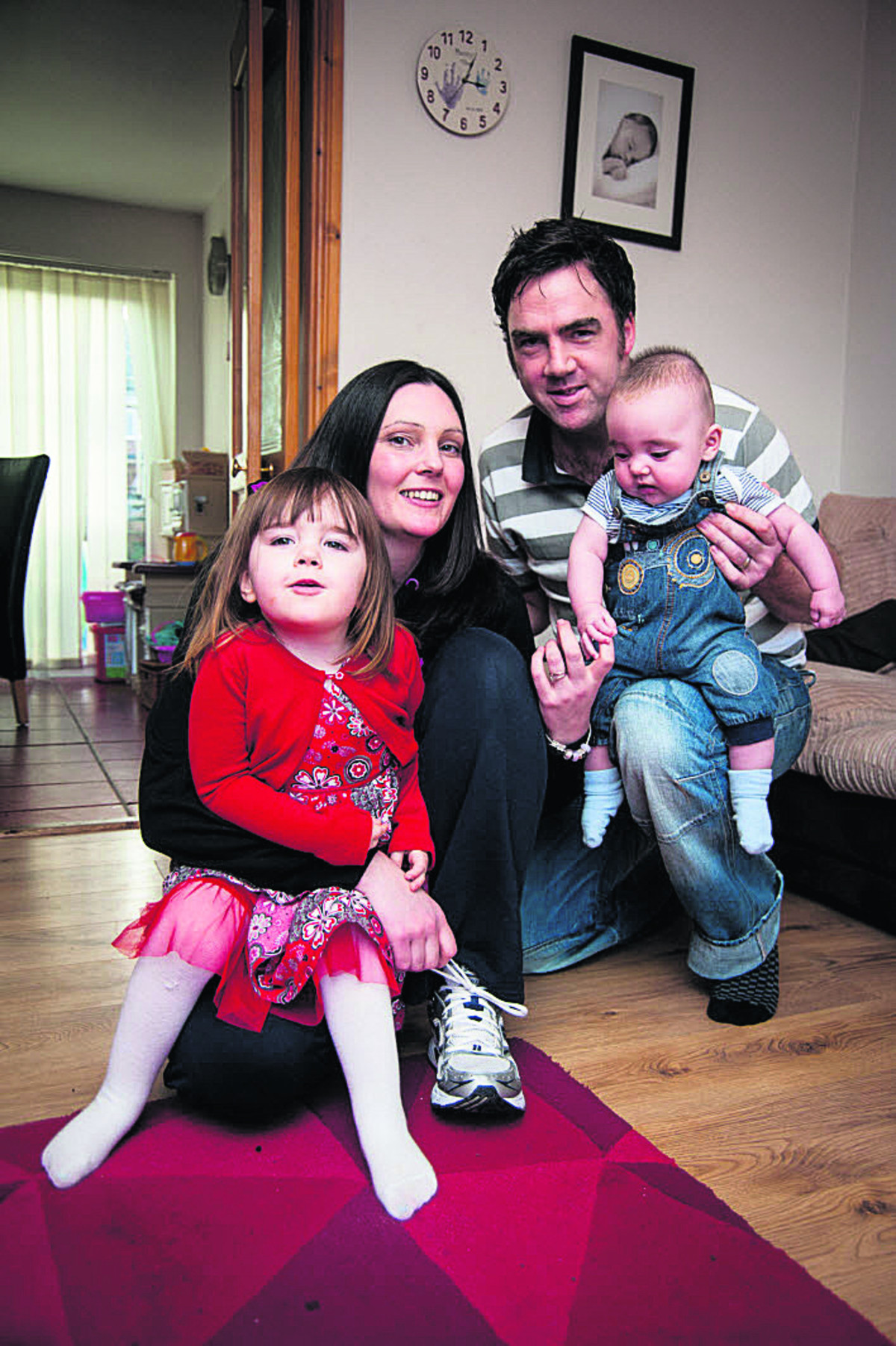 Hayley and James Munro with their children Elizabeth and Matthew