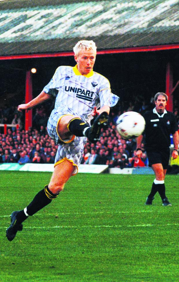Herald Series: David Rush during his Oxford United days