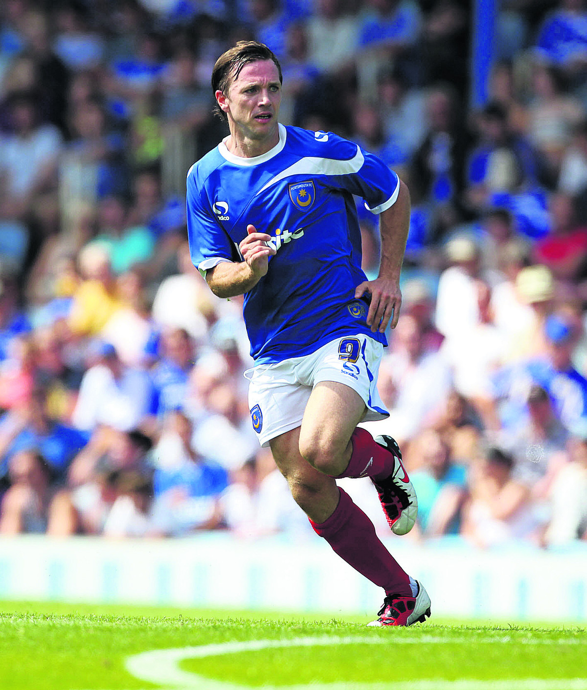 David Connolly is keen to make a big impression during his loan spell at Oxford Picture: Portsmouth News/Joe Pepler