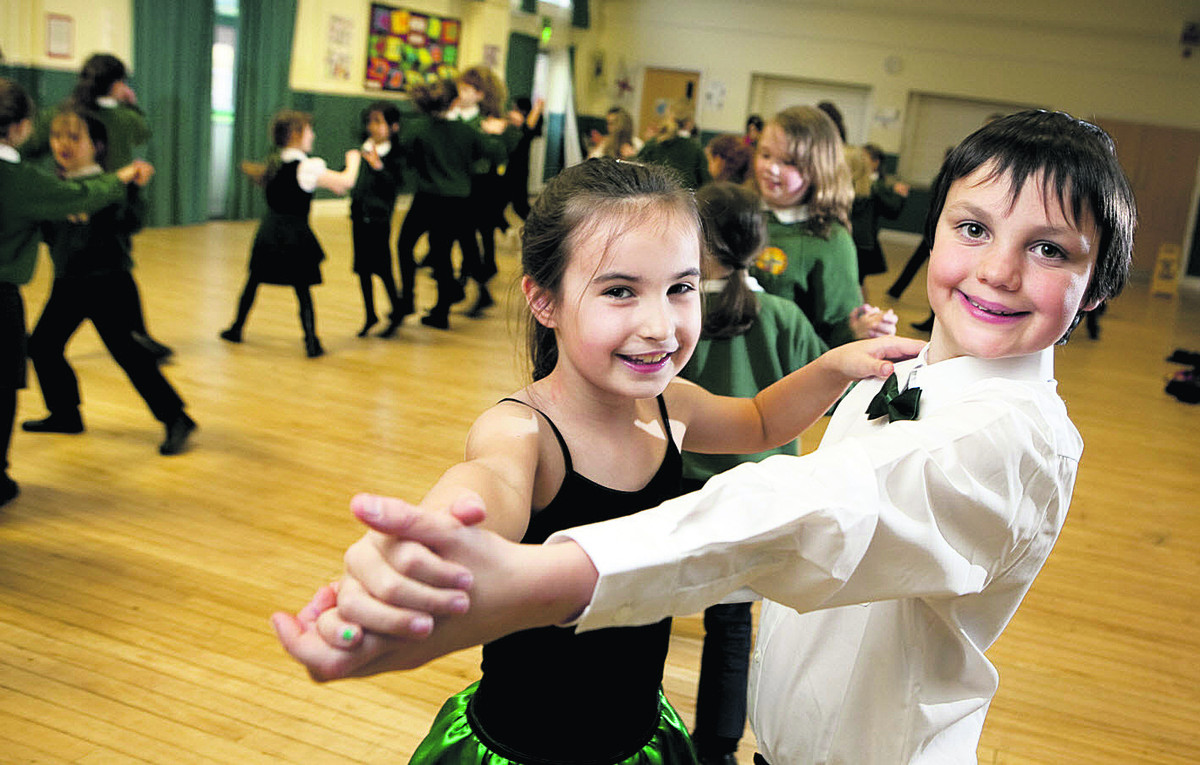 Young dancers take strides for top spot in Junior Strictly Oxford competition