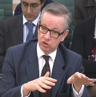 Herald Series: Education Secretary Michael Gove has denied his department is full of 'yes men'