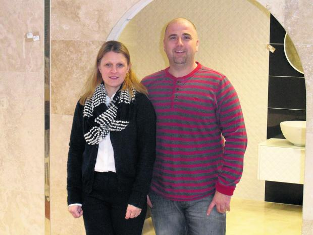 Herald Series: Hazel and Damian Brant, of Azulejos Tiles, based at Grove Technology Park