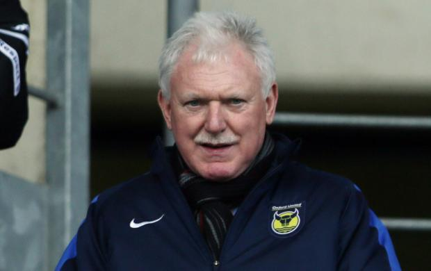Oxford United chairman Ian Lenagan