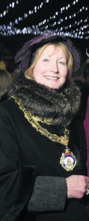Town council leader Fiona Roper