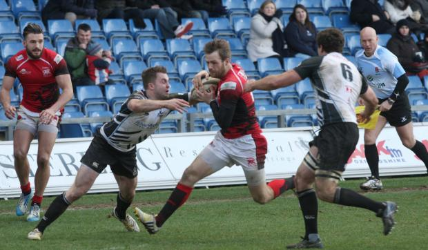Seb Jewell was one of London Welsh's most creative players in their victory over Rotherham