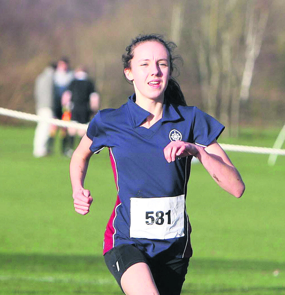 Abingdon's Fiona Bunn edged home by just one second to win at Milton Keynes