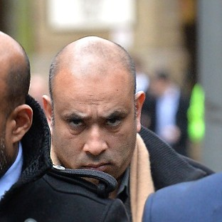 Mohammed Ferdhaus arrives at Southwark Crown Court for sentencing for his part in a crash-for-cash car insurance scam