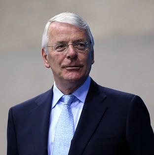 Sir John Major's life story makes him a symbol of the Conservative party, Grant Shapps said