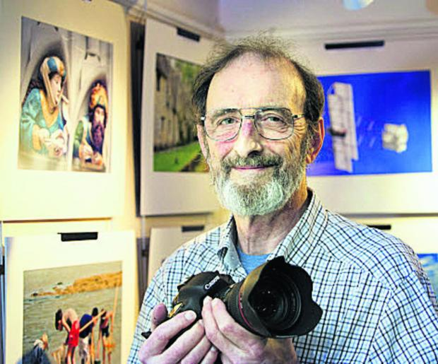Herald Series: Wantage Camera Club chairman Dave Richardson. Picture: OX65468 Damian Halliwell