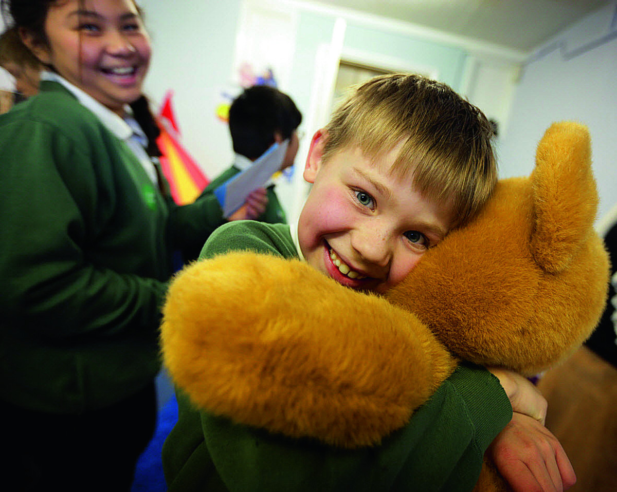 Services' children get nurture room