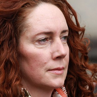 Former News International chief executive Rebekah Brooks arrives at the Old Bailey, as the phone hacking trial continues