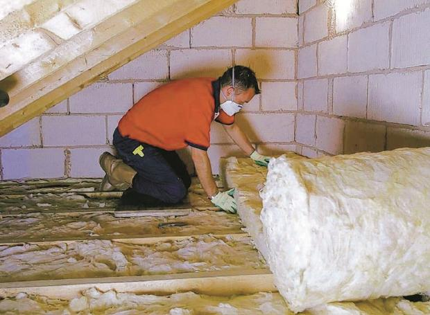 Herald Series: Budget cuts mean less social housing tenants will now have insulation work funded
