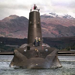 Herald Series: HMS Vanguard is to have its reactor refuelled after a test reactor was found to have a small internal leak of radiation