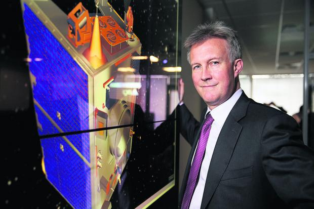 Satellite Applications Catapult chief executive Stuart Martin