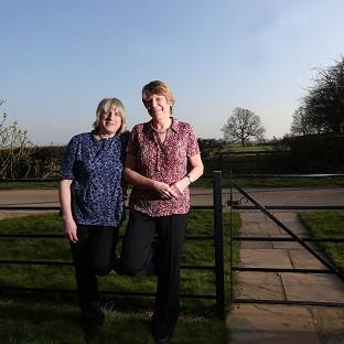 Celia Kitzinger (left) and Sue Wilkinson (right) who lost a legal fight t