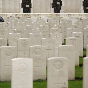 Military honours for WWI casualties