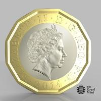 Herald Series: The new one pound coin announced by the Government will be the most secure coin in circulation in the world (HM Treasury/PA)