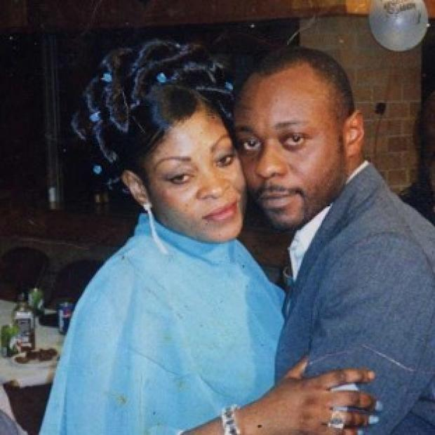 Herald Series: Jimmy Mubenga, pictured with his wife Adrienne Makenda Kambana, died while being restrained on a flight back to his native Angola