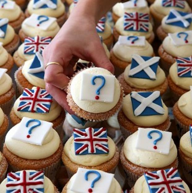 Herald Series: A new opinion poll suggests support for independence is at 40 per cent, with 45 per cent against and 15 per cent still undecided