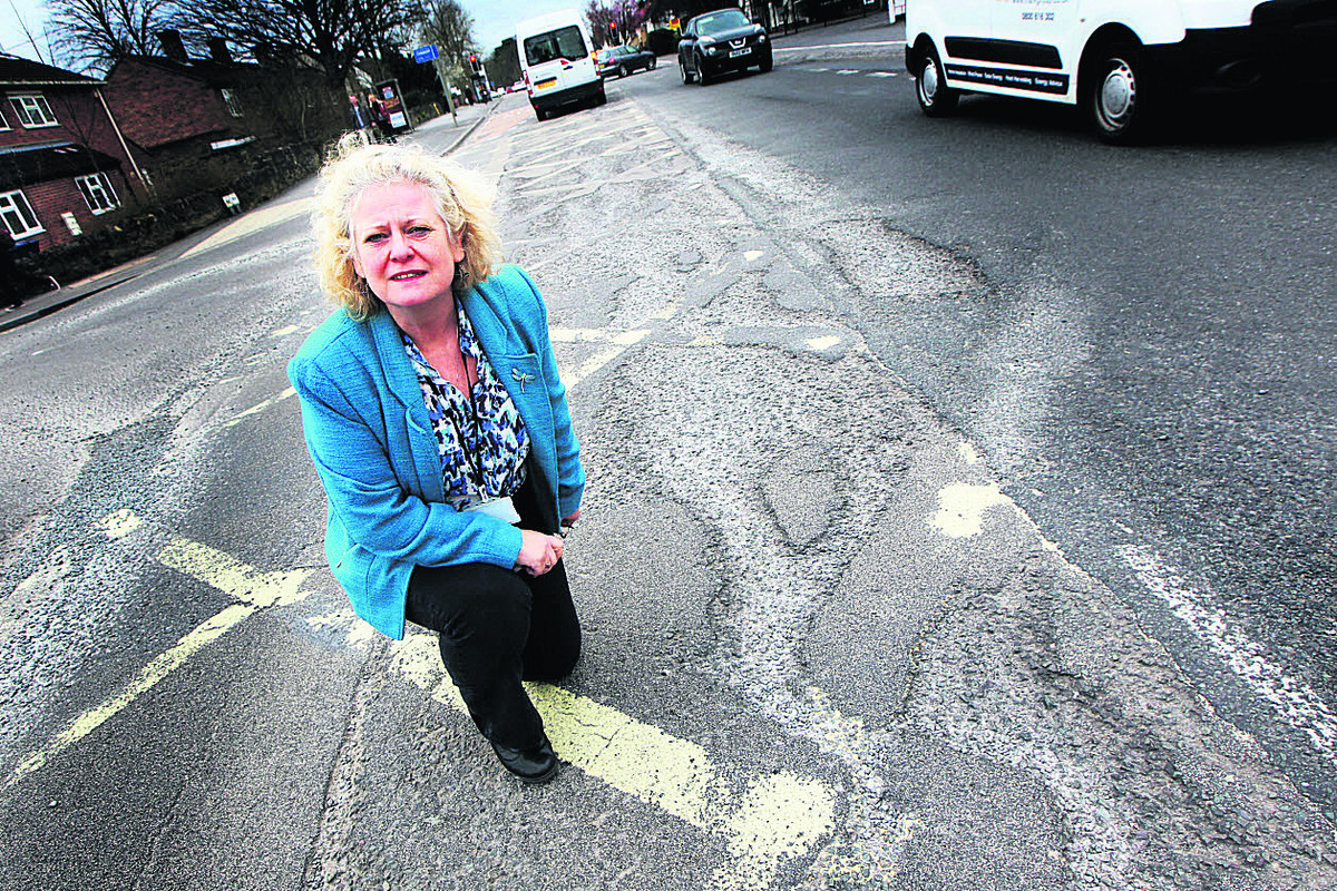 Road repairs costing £160m plus in mounting highways crisis