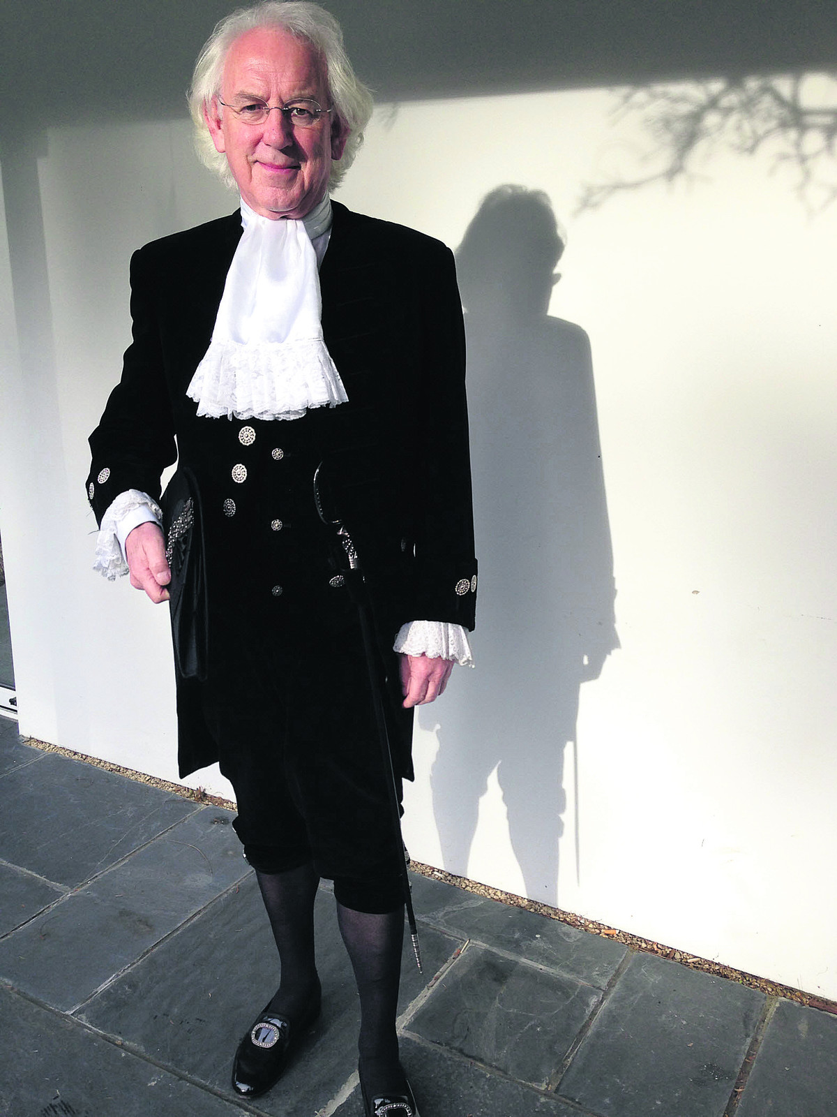 Tony Stratton,  who takes up  the position of  High Sheriff of  Oxfordshire next month