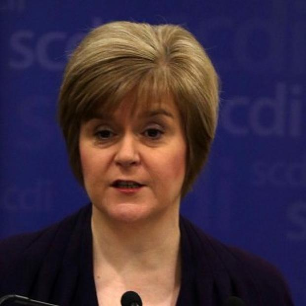 Herald Series: Nicola Sturgeon said reports that a pro-union government minister believes there would be a currency union between an independent Scotland and the rest of the UK reports gave a big boost to the Yes campaign.