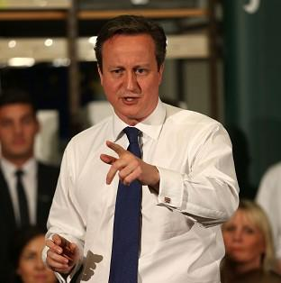 Herald Series: Prime Minister David Cameron will take part in a question and answer session with employees