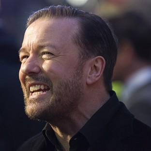 Office star Ricky Gervais revealed he has been offered a  Glastonbury Festival slot and that he is pro-euthanasia, joking that he hopes one day he can as