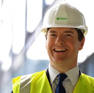 Herald Series: Chancellor George Osborne says Britain is going to have the most competitive export finance in Europe
