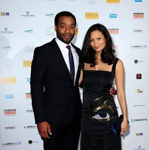 Herald Series: Chiwetel Ejiofer (left) and Thandie Newton attending the premiere of Half of A Yellow Sun at the Odeon Streatham, London.