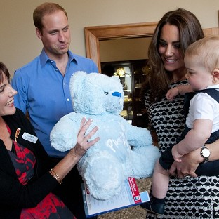 'Bubbly' George joins playgroup