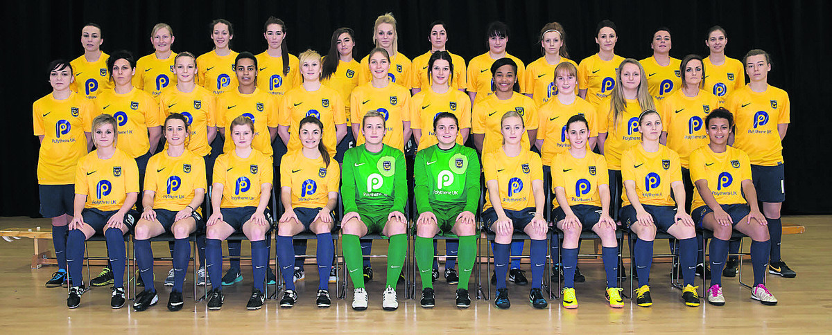 Oxford United Women's squad