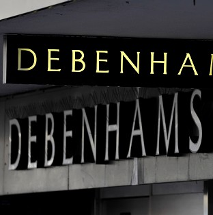 Debenhams' profits fell 24.5% to �85.2m in the six months to March 1