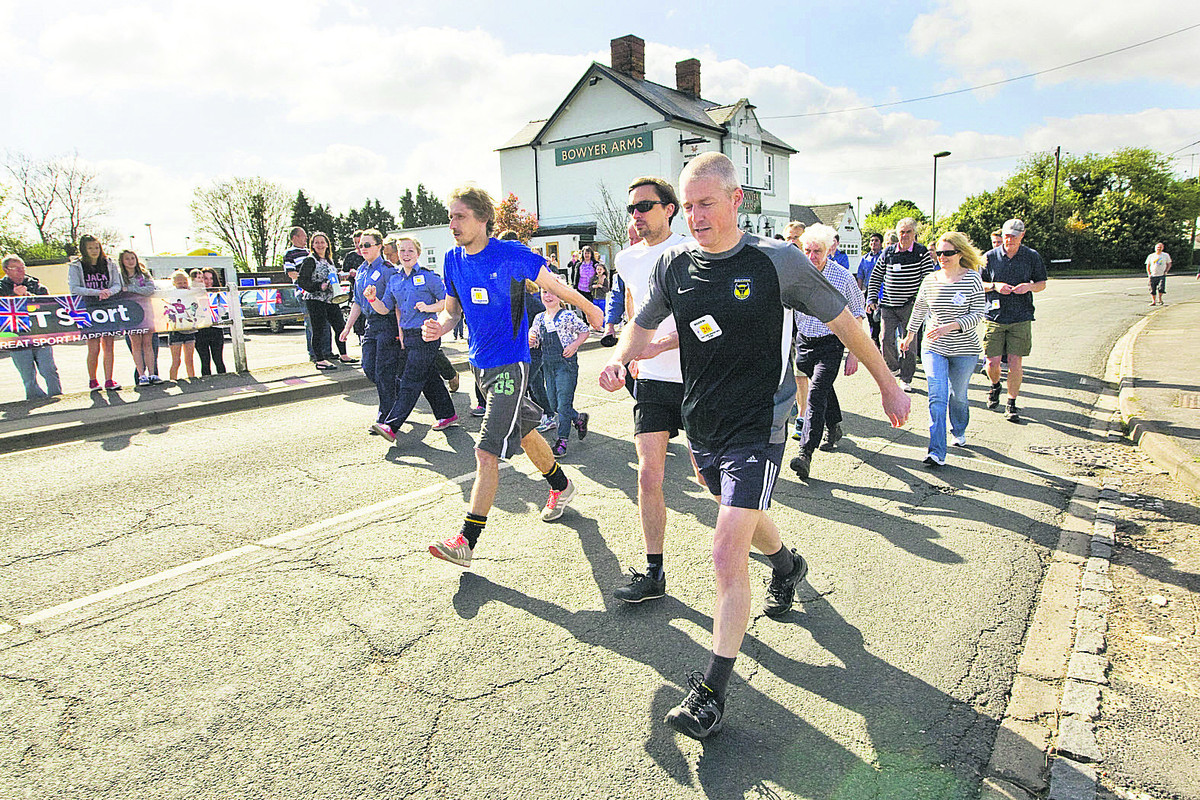 Radley walkers step up to keep a village tradition alive