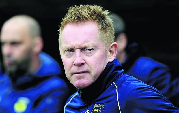 Gary Waddock's primary concern is steering United back to form