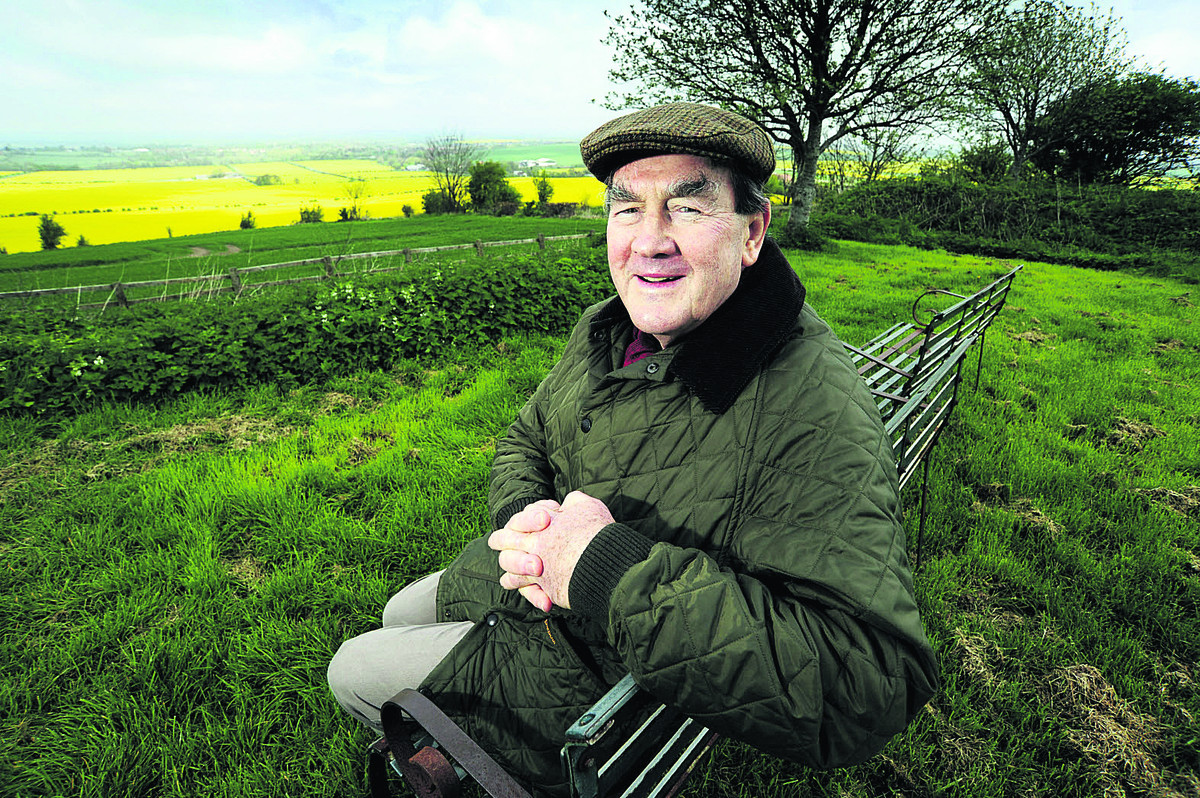 Friends secretary Jeff Goddard, pictured at the Court Hill centre on the Ridgeway near Wantage  Pictures: David Fleming