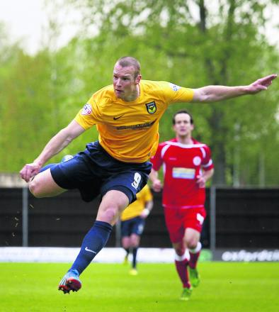 James Constable still needs one goal to equal Oxford United's goalscoring record